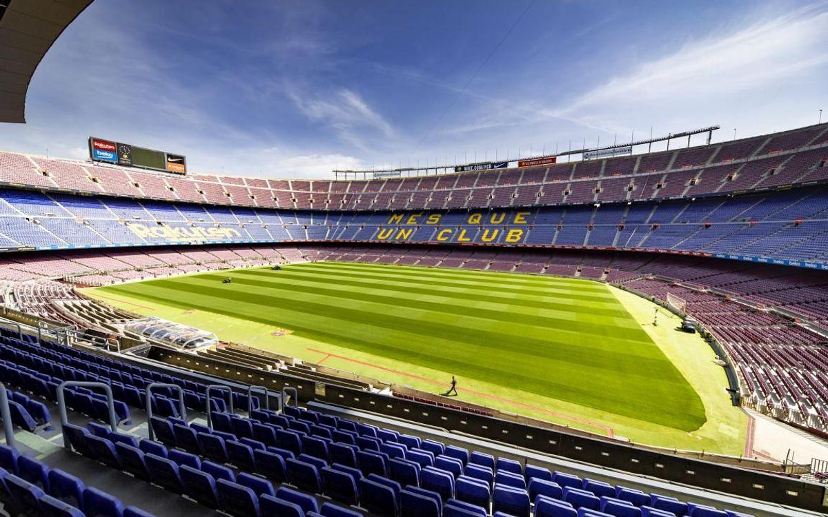 El Barça compta amb serveis mínims i manté la cura de la gespa dels seus camps per garantir una correcta tornada a l'activitat