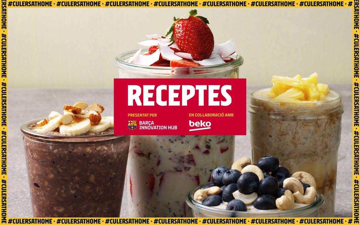 La recepta preferida de Jordi Alba: Farinetes de civada
