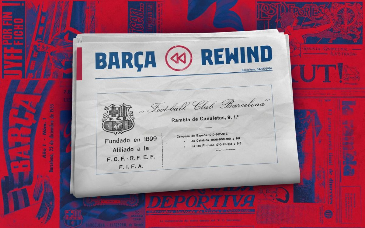 Barça Rewind: The first female employee of the club