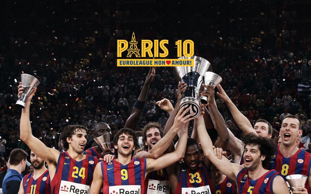 Una semana para celebrar la Euroliga de París 2010