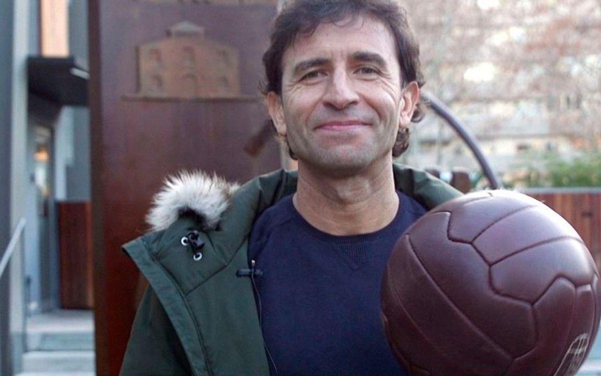 """""""Vaig tenir la sort de poder marcar un gol el dia del meu debut al Camp Nou"""""""