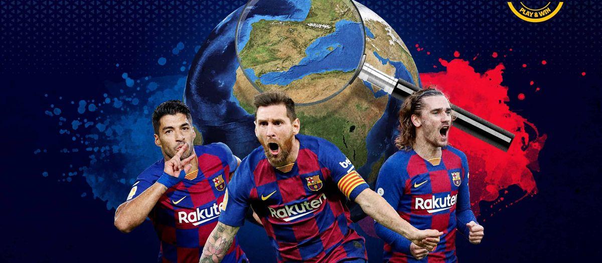 Where were the FC Barcelona players born?