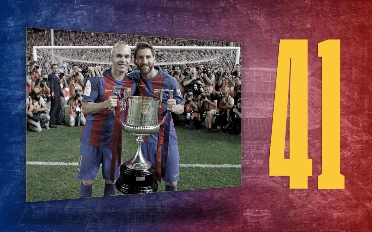 Stat of the day | 41: Copa del Rey finals for Barça