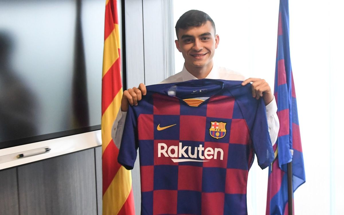 Pedri: 'We even have Barça plates at home'