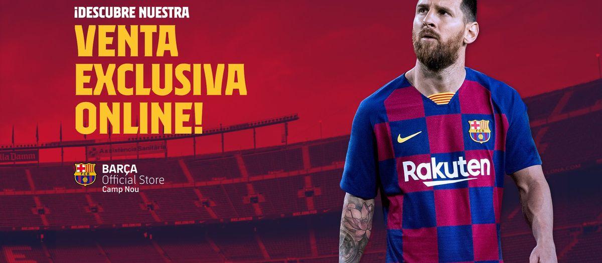 Abre la nueva Tienda Online de la Barça Store del Camp Nou