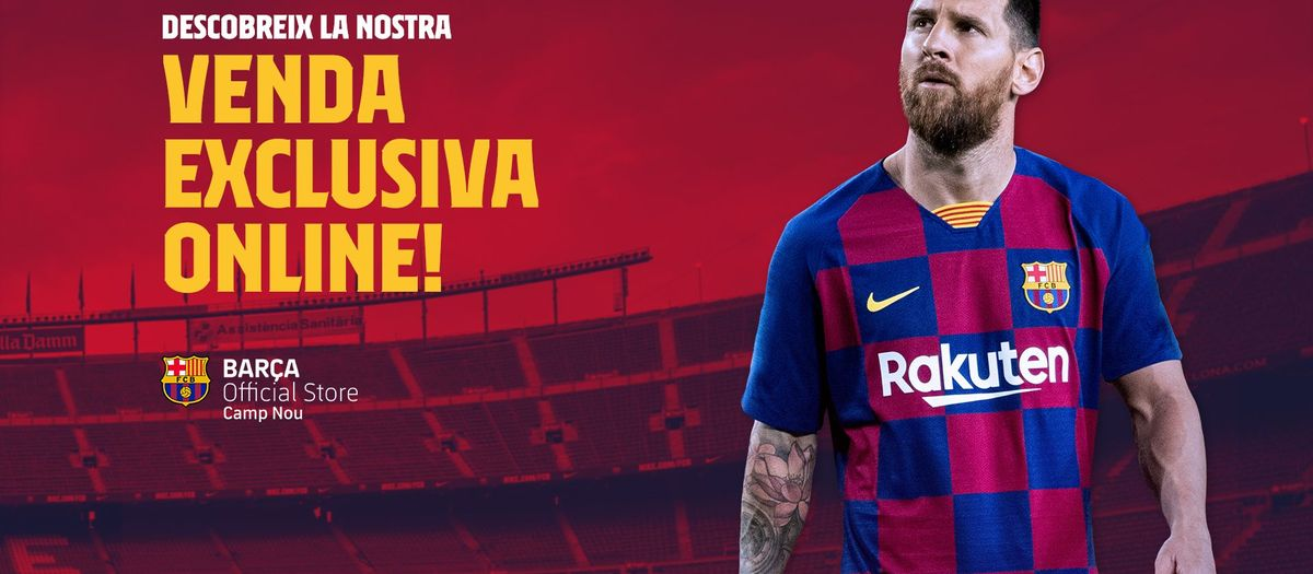 Obre la nova botiga 'online' de la Barça Store del Camp Nou