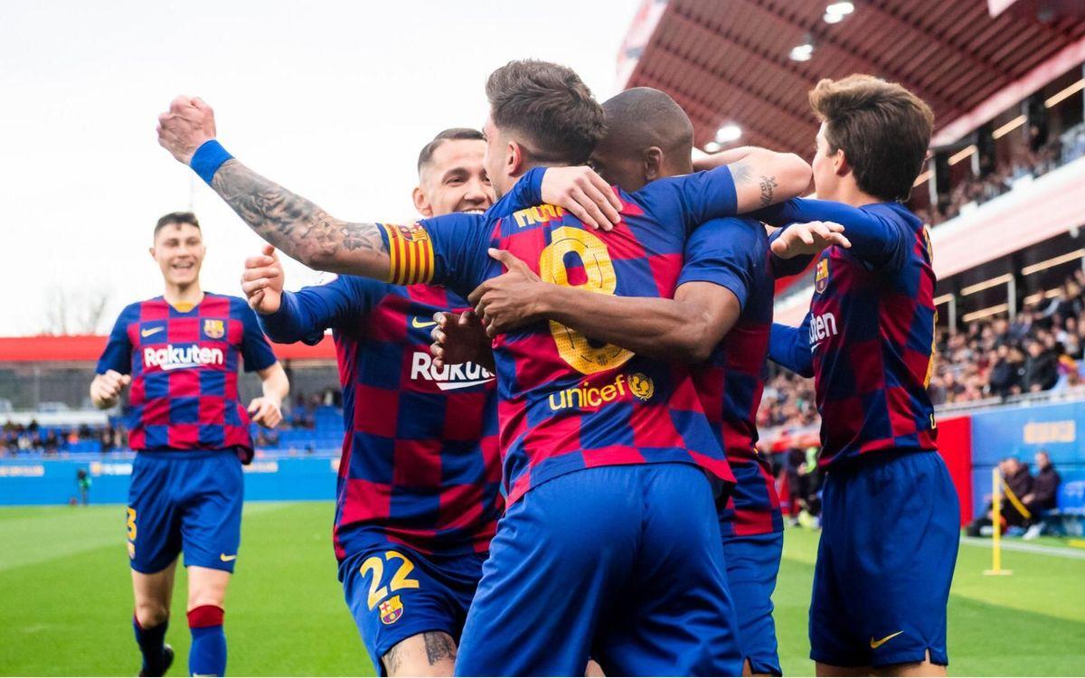 El Barça B jugará el play-off de ascenso