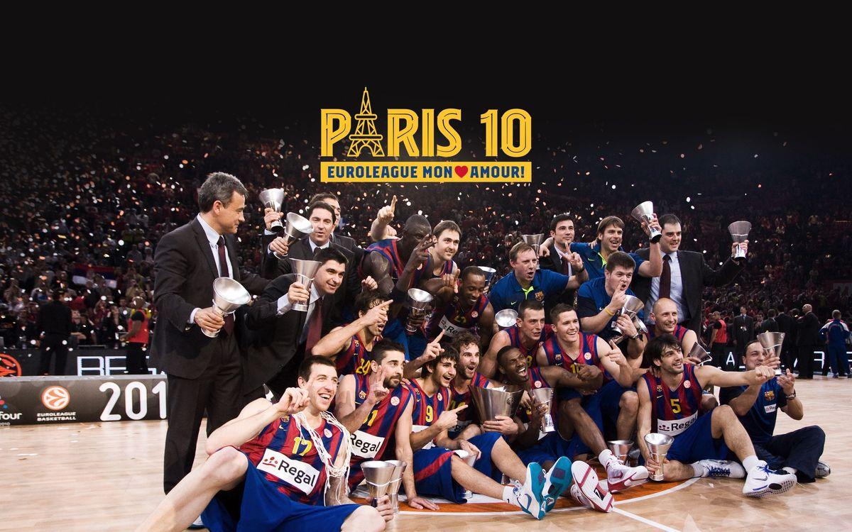 Décimo aniversario de la segunda Euroliga de baloncesto