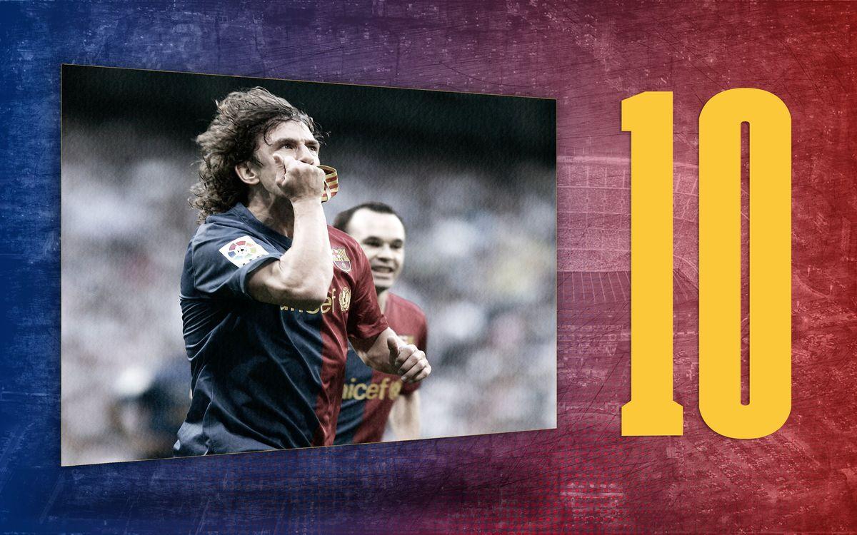 El dato del día | 10: Las temporadas de Puyol como capitán