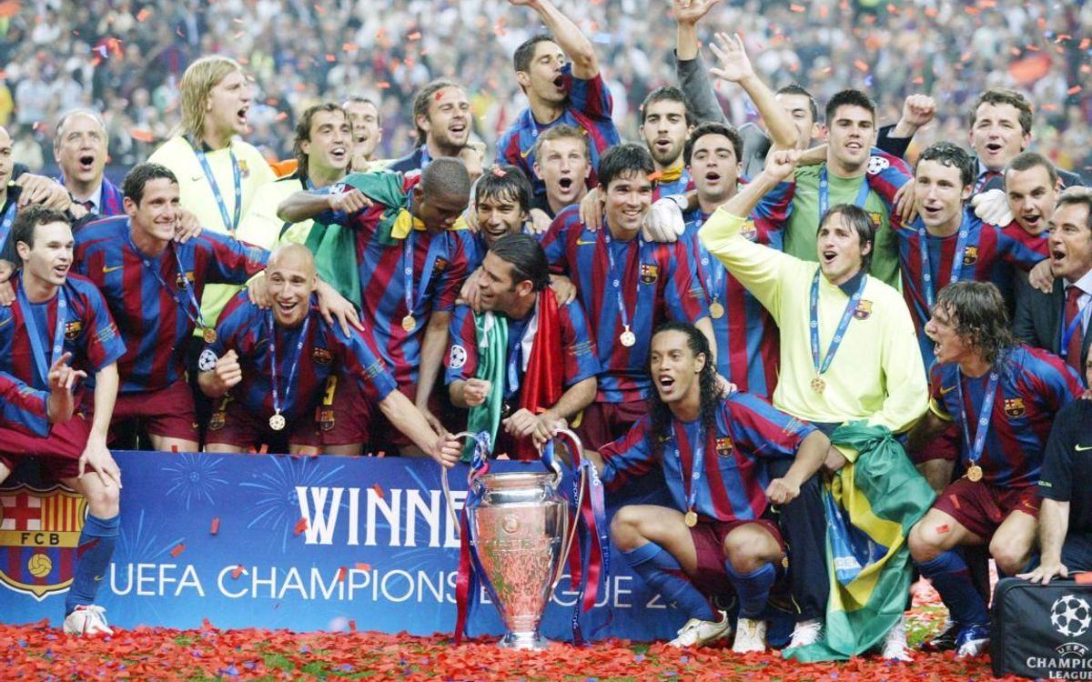 Edmilson était titulaire avec le Barça lors de la finale de la Ligue des Champions 2006 à Paris