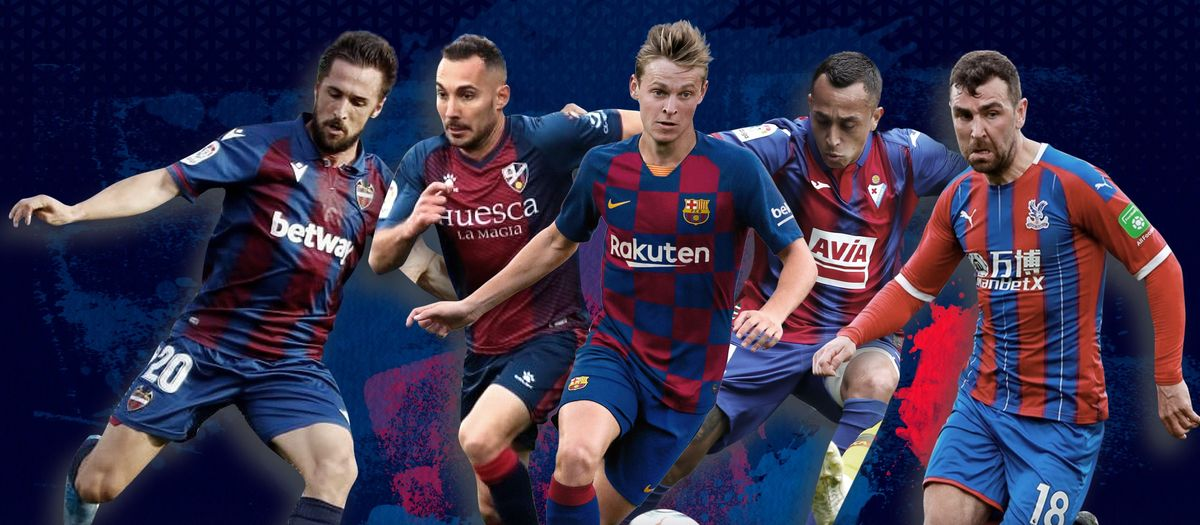 Barça's blaugrana 'twins'