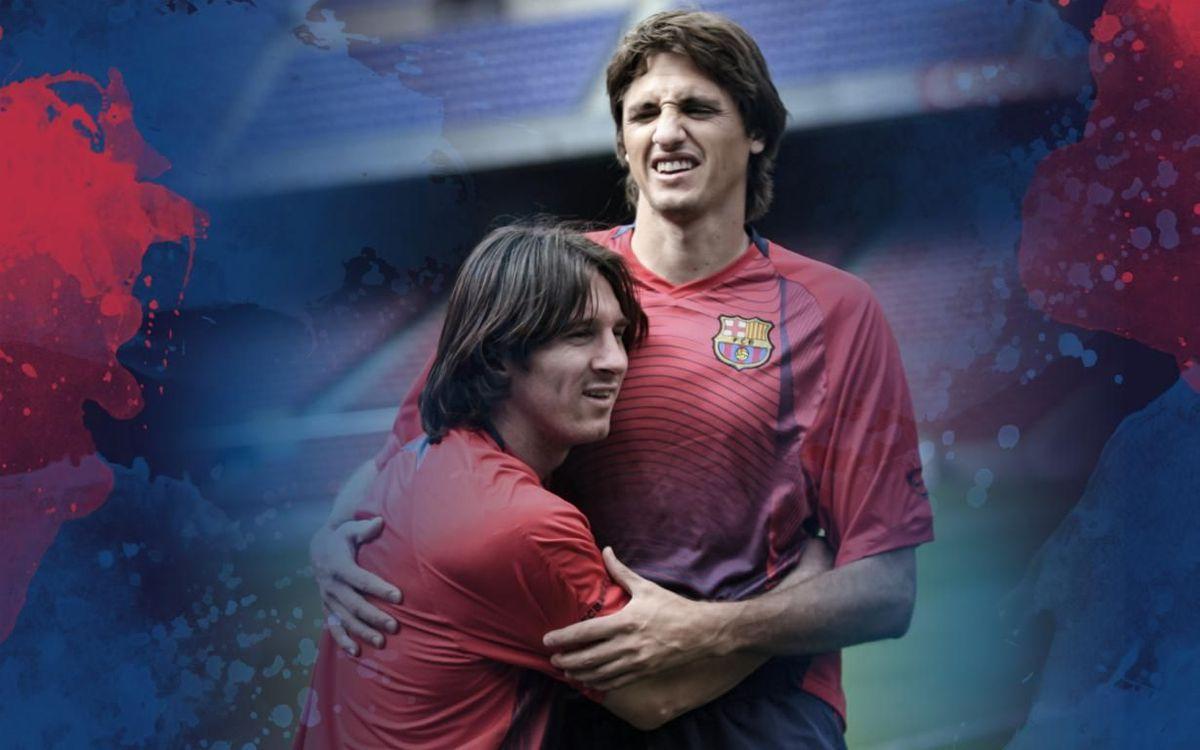 Edmilson et Messi ont joué ensemble durant les premières années du prodige argentin en équipe première
