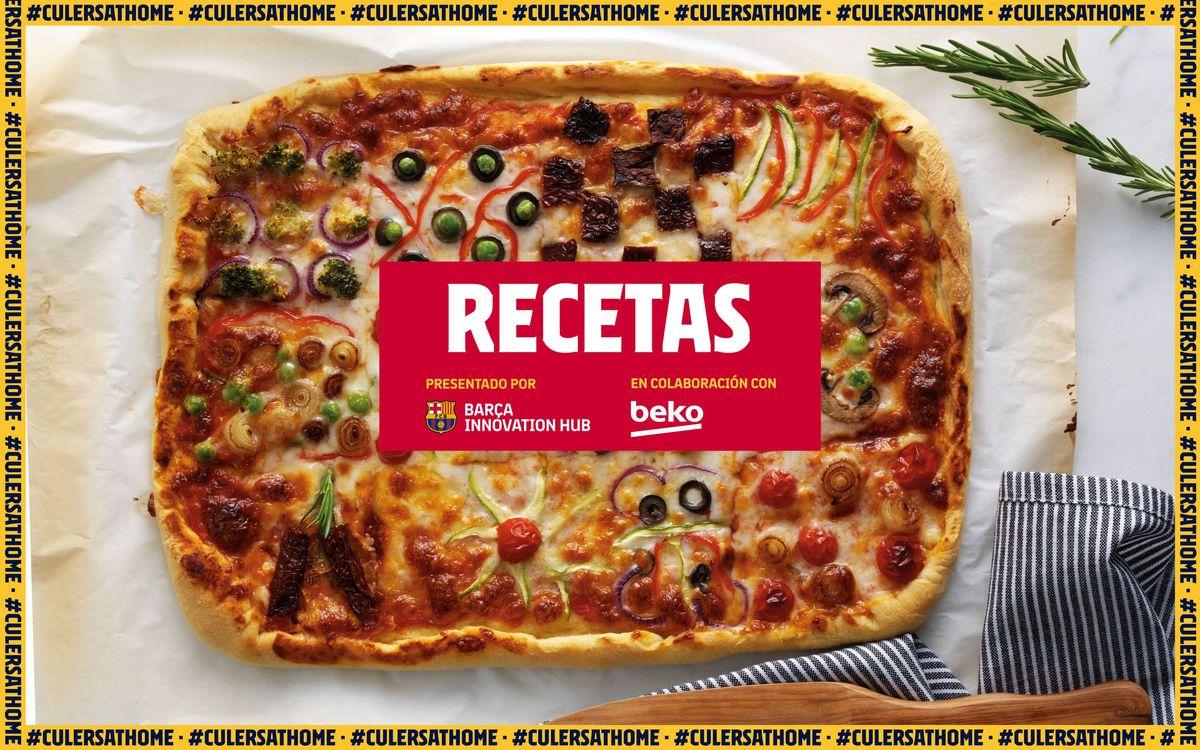 La receta favorita de Semedo: Pizza saludable