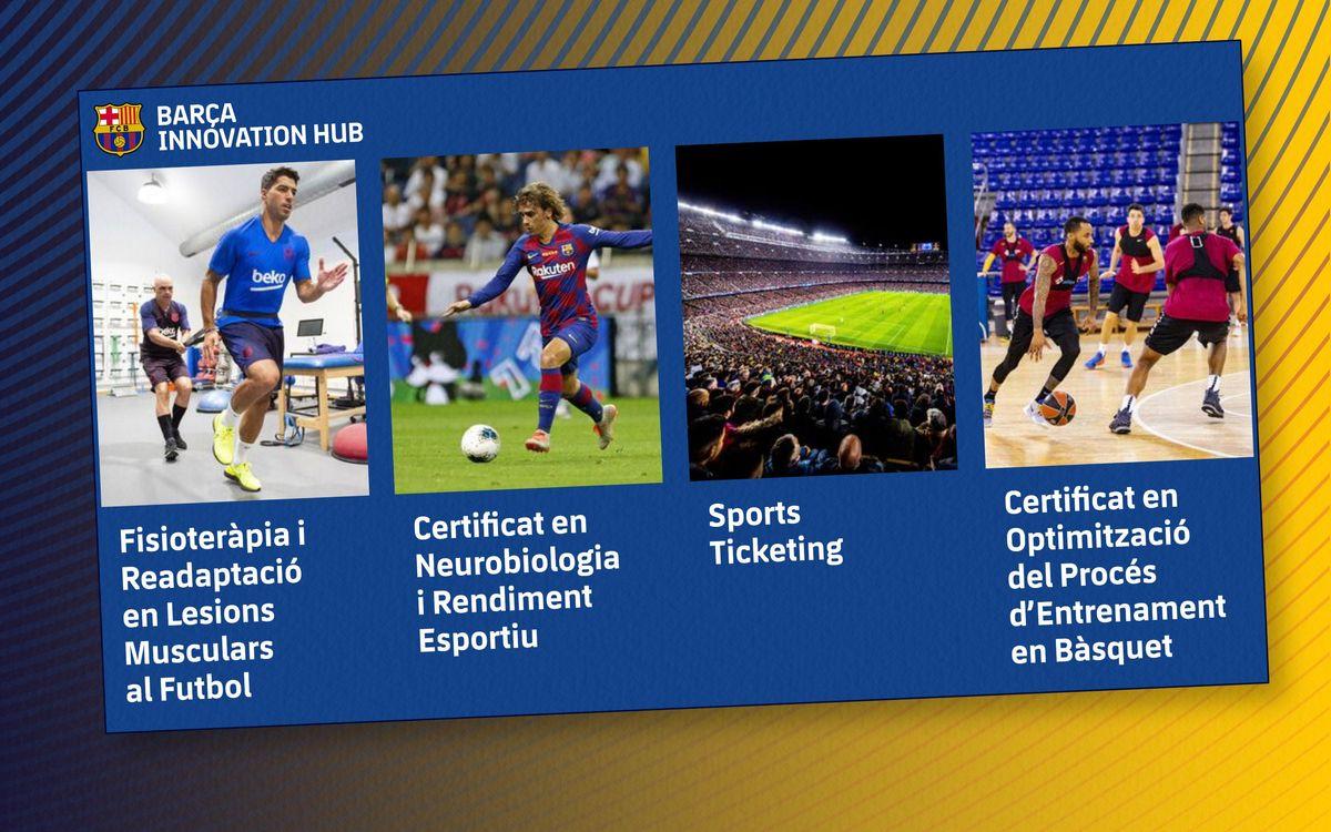 El Barça Innovation Hub dispara les matrícules de la formació online