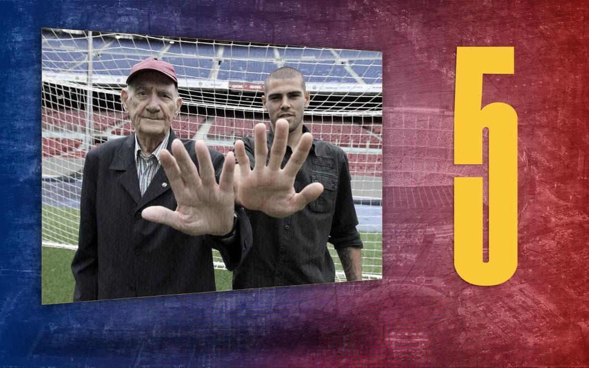La dada del dia | 5: Els Zamora d'Antoni Ramallets i Víctor Valdés