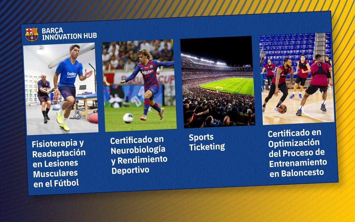 El Barça Innovation Hub dispara las matrículas de la formación online