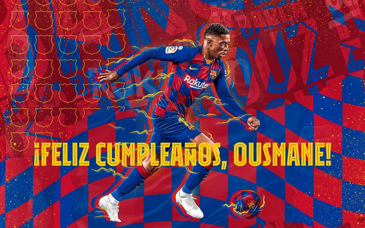 Cumpleaños con encuesta: ¿cuál es el mejor gol de Dembélé?