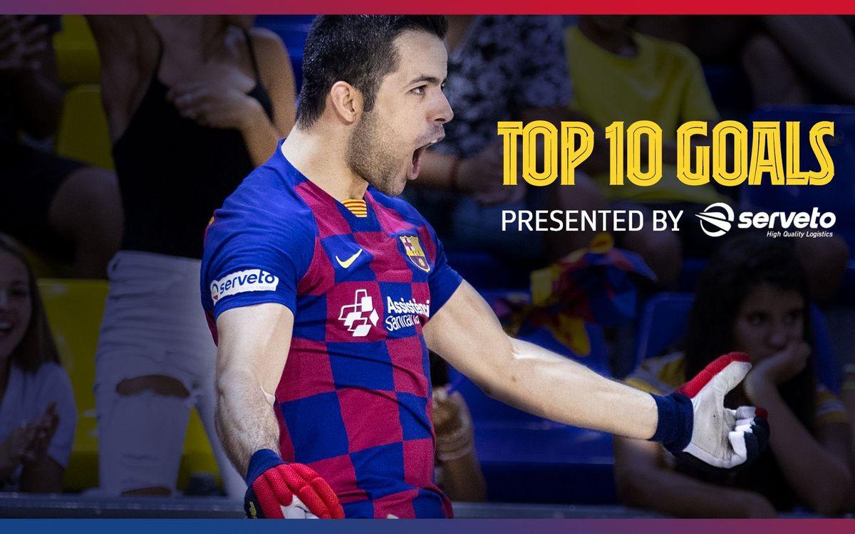 Los 10 mejores goles de João Rodrigues con el Barça