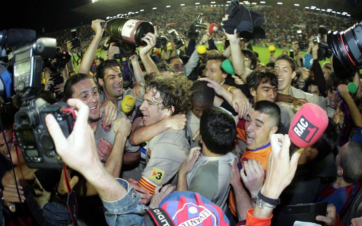14 de maig del 2005: La primera Lliga de Frank Rijkaard