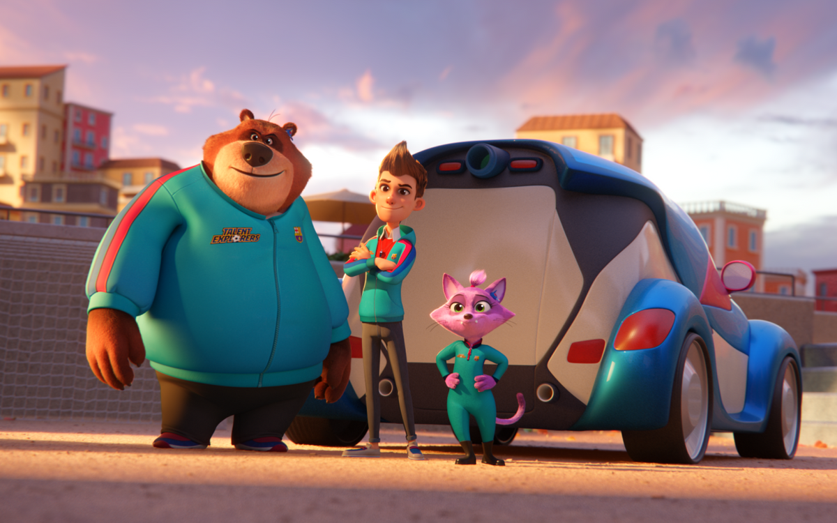 Barça Studios making 'Talent Explorers' animated series