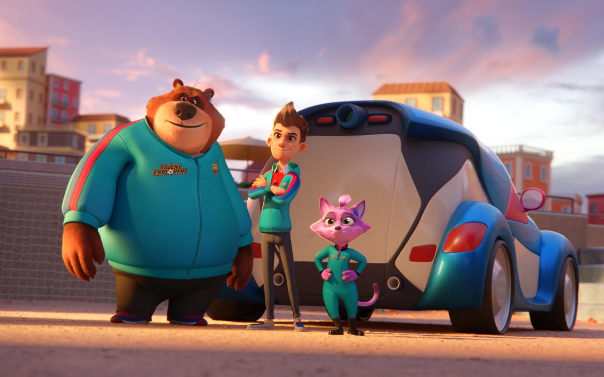 Barça Studios lance la série de dessins animés 'Talent Explorers'