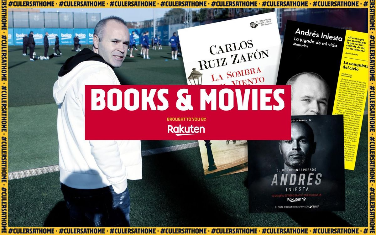 Iniesta recommends: 'An unexpected hero', 'The move of my life' and 'The shadow of the wind'