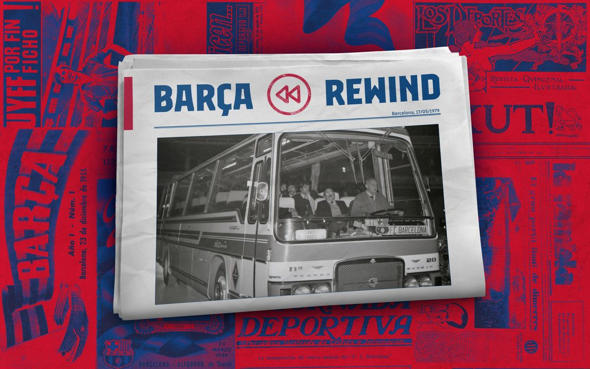 Barça Rewind: The four hour journey from the airport to Plaça Sant Jaume