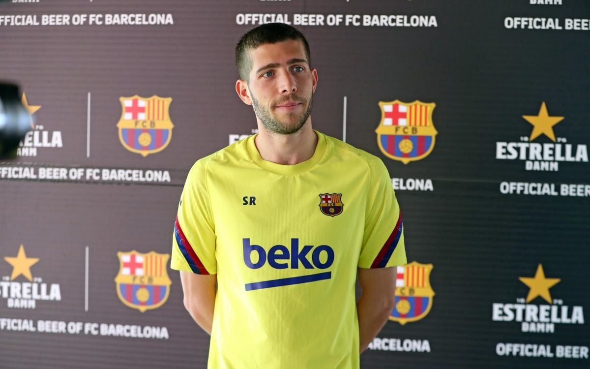 Sergi Roberto feeling positive and ready to give 100%