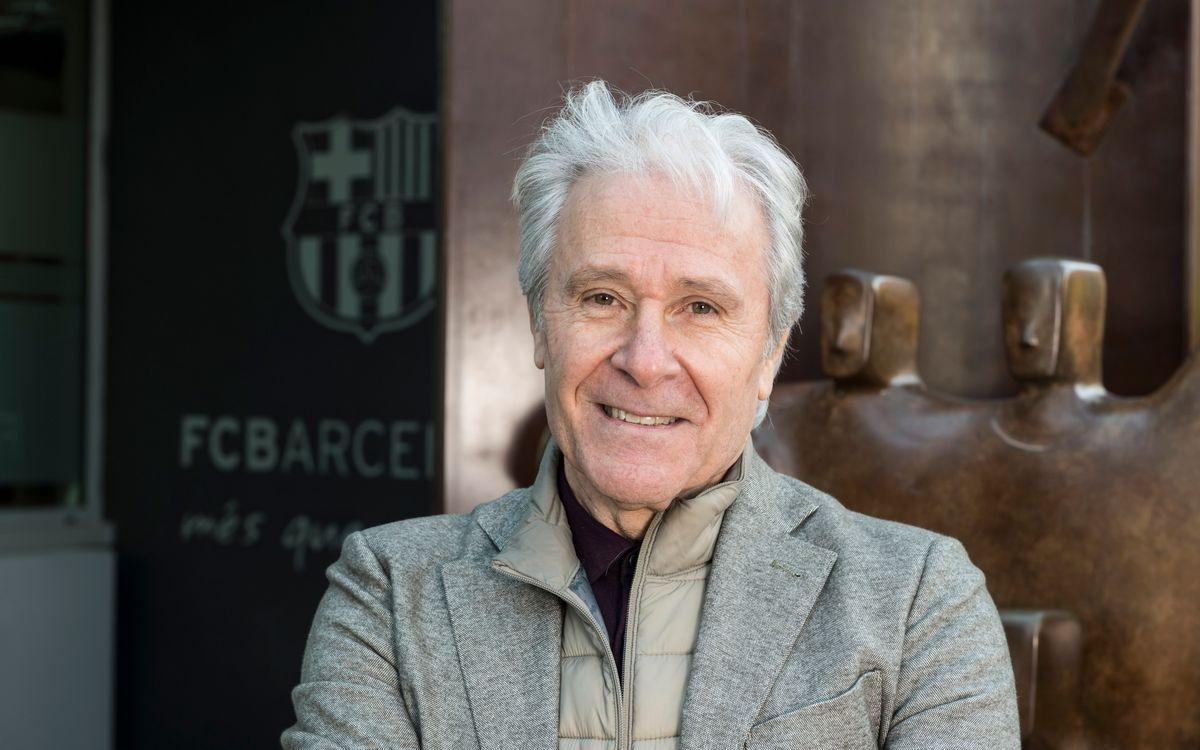 Carta de Ramon Alfonseda, presidente de la Agrupación