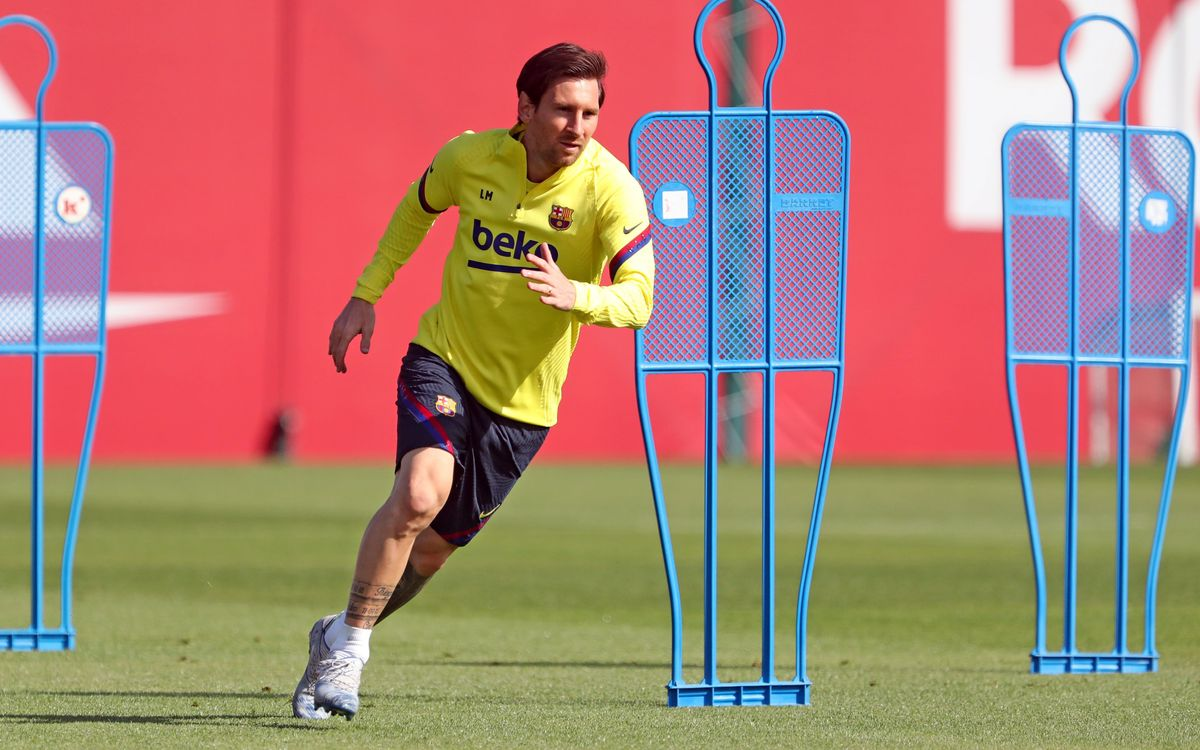 From Monday training sessions with up to 10 players
