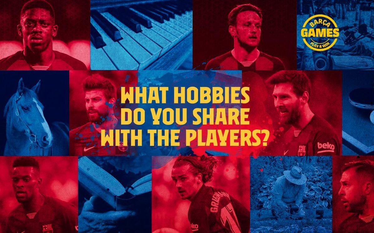 Discover what hobbies you have in common with the players
