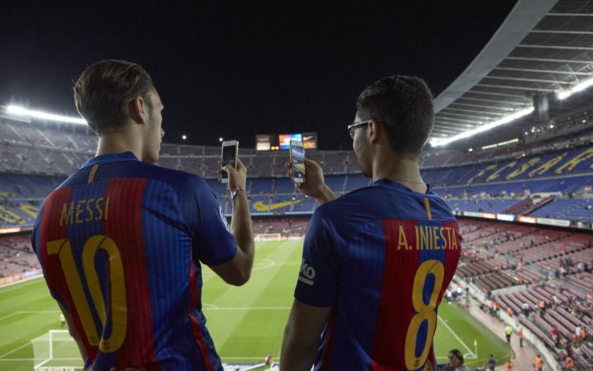 El Barça, referente en las redes sociales durante el período de Covid-19
