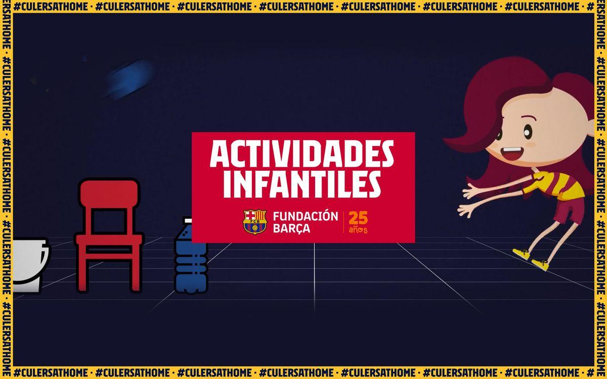 Actividades para niños y niñas: Ambición es superarse estando en casa