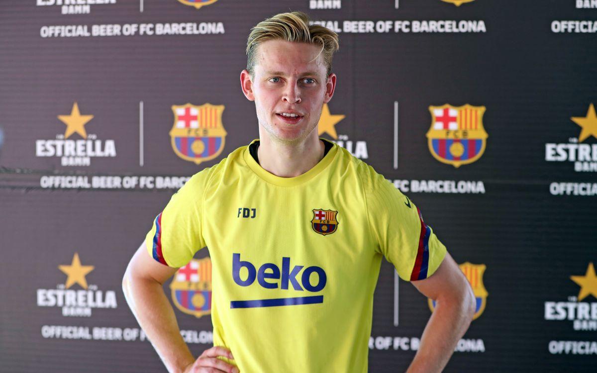 De Jong: 'Great to be back'