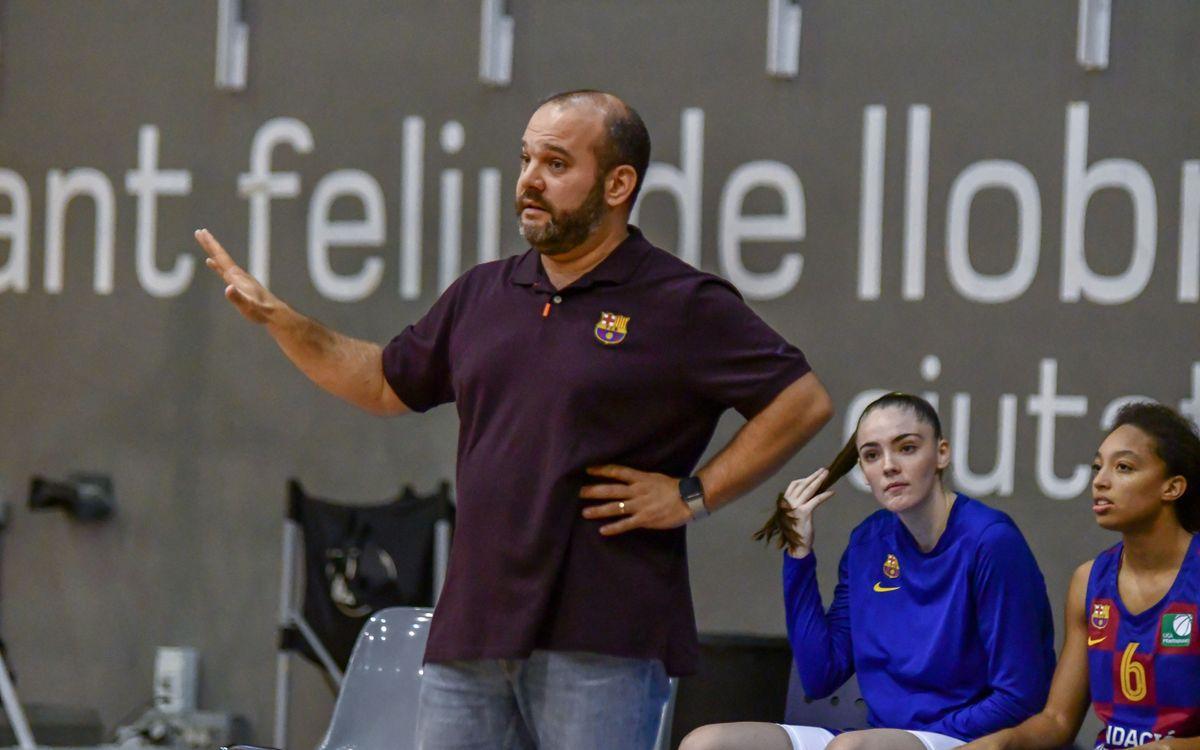 Isaac Fernández renueva con el Barça de baloncesto femenino