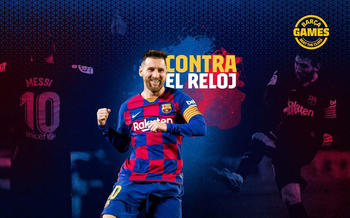 CONTRA EL RELOJ | Nombra los 77 equipos que han recibido gol de Messi