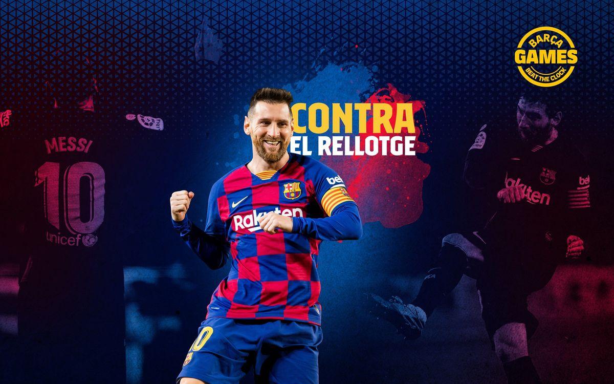 CONTRA EL RELLOTGE | Anomena els 77 equips que han rebut gol de Messi