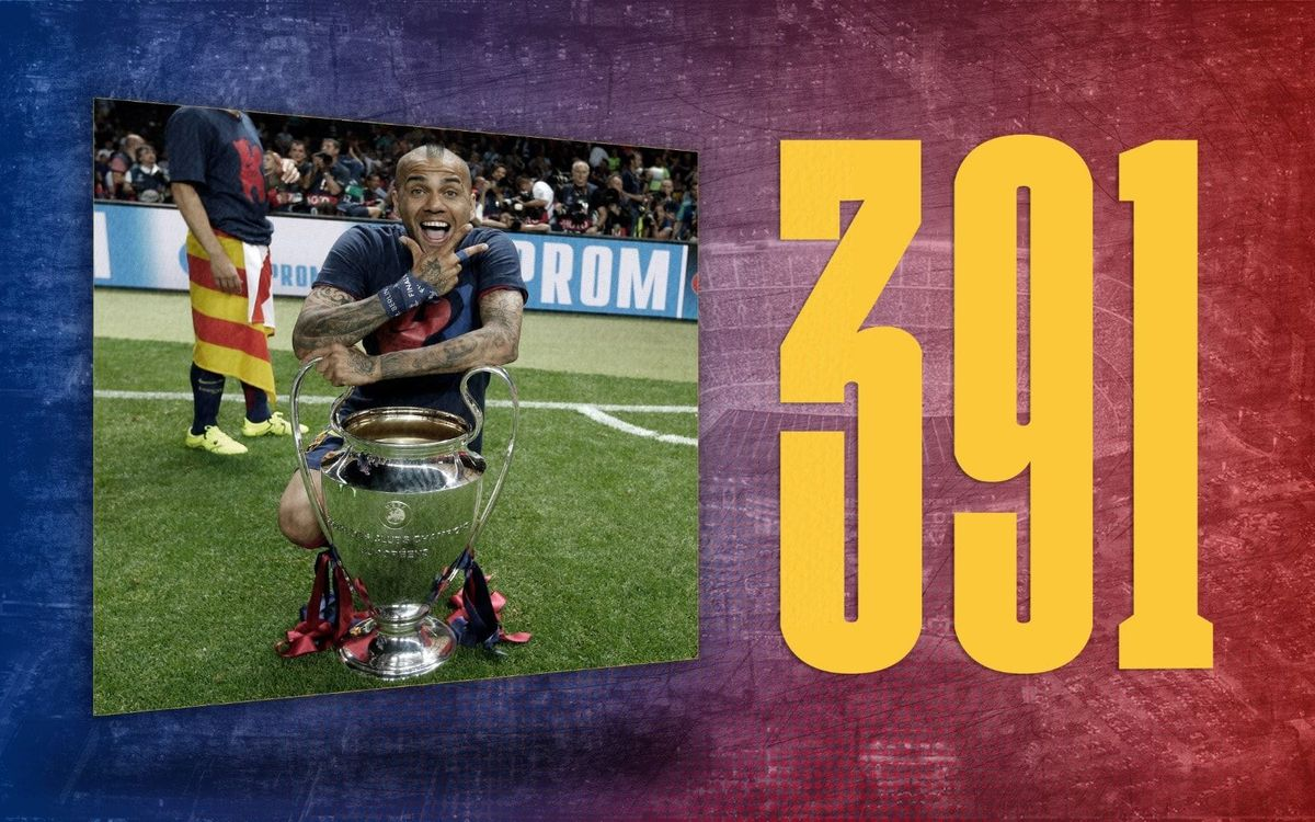 Stat of the Day | 391: Dani Alves appearances