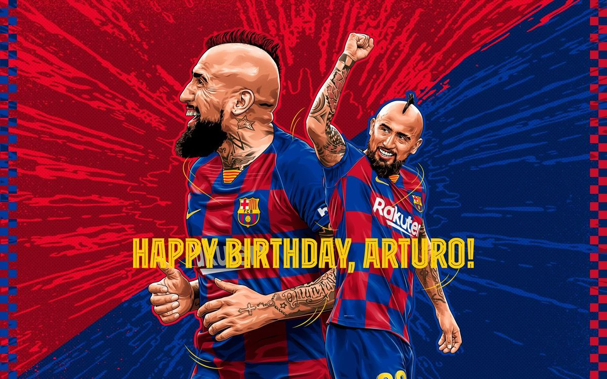 Celebrate Arturo Vidal's birthday by picking his best Barça goal ever