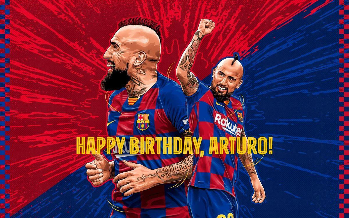 アルトゥーロ・ビダルの誕生日をベストゴールセレクトで祝おう!