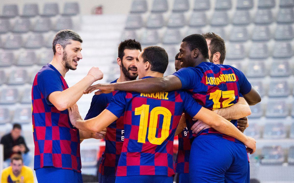 El Barça Voleibol masculino ya es equipo de Superliga 1