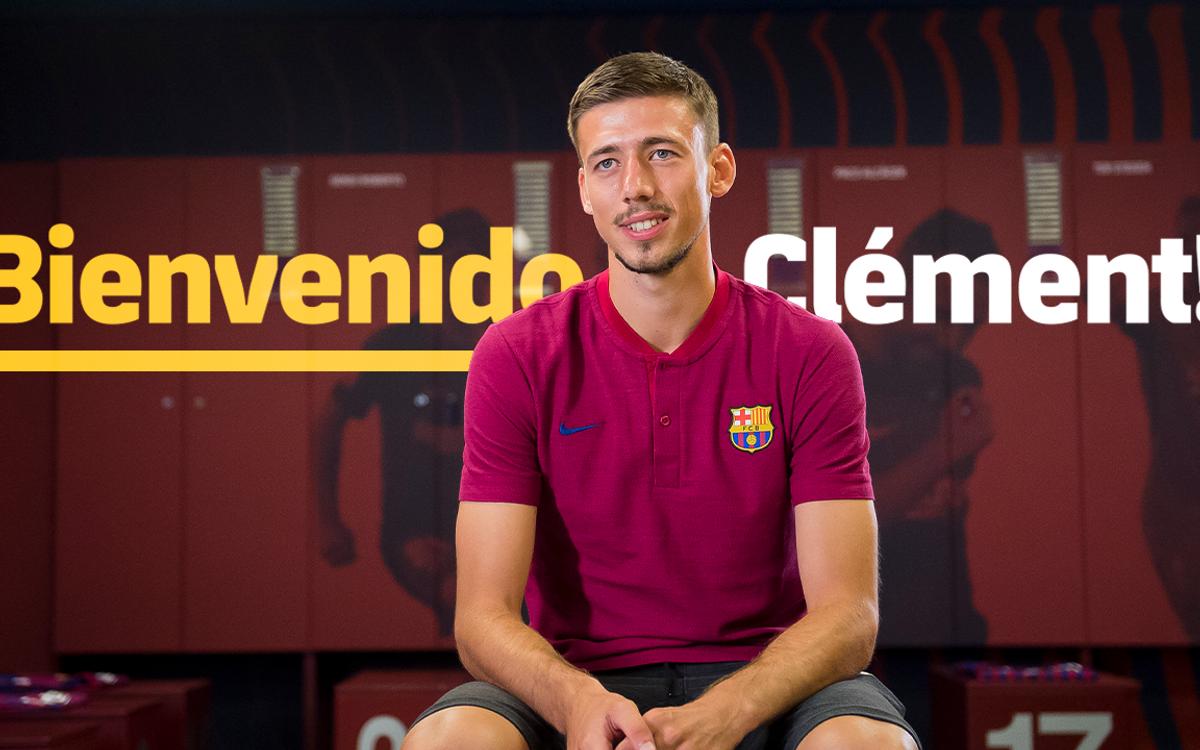 """Lenglet: """"El Barça tiene un estilo único"""""""