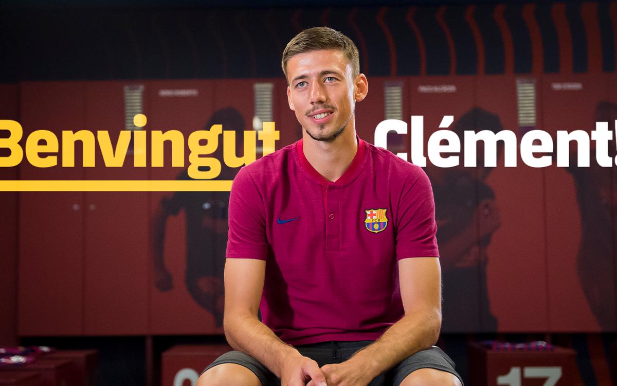 "Lenglet: ""El Barça té un estil únic"""