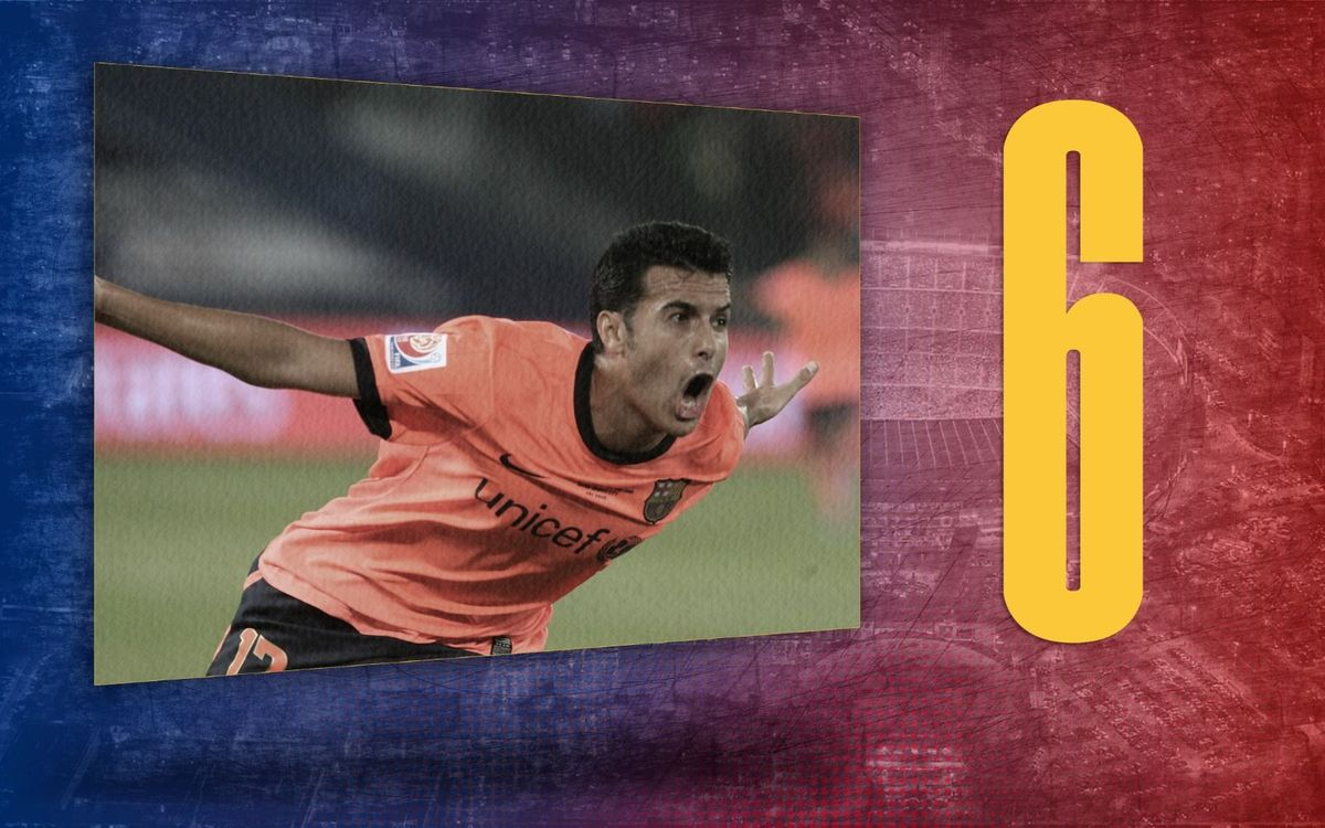 El dato del día | 6: Las competiciones donde marcó Pedro en 2009
