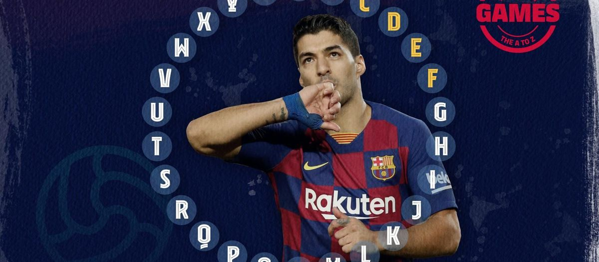 Quiz: The A to Z of Luis Suárez