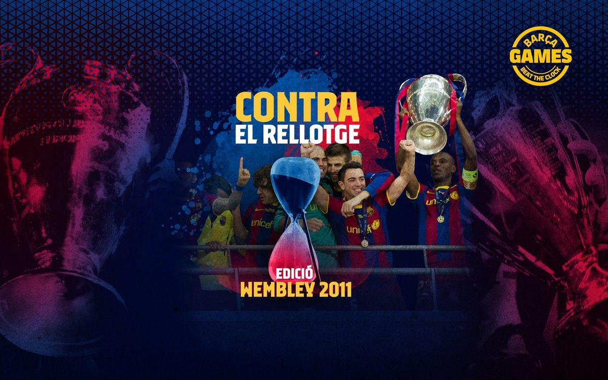 CONTRA EL RELLOTGE   Anomena els 26 jugadors culers que van disputar la Champions 2010/11