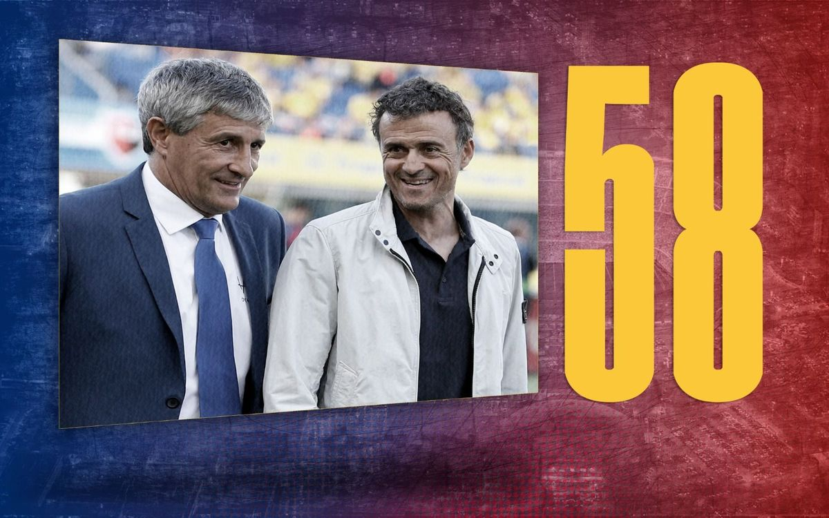 Stat of the day | 58: Barça coaches