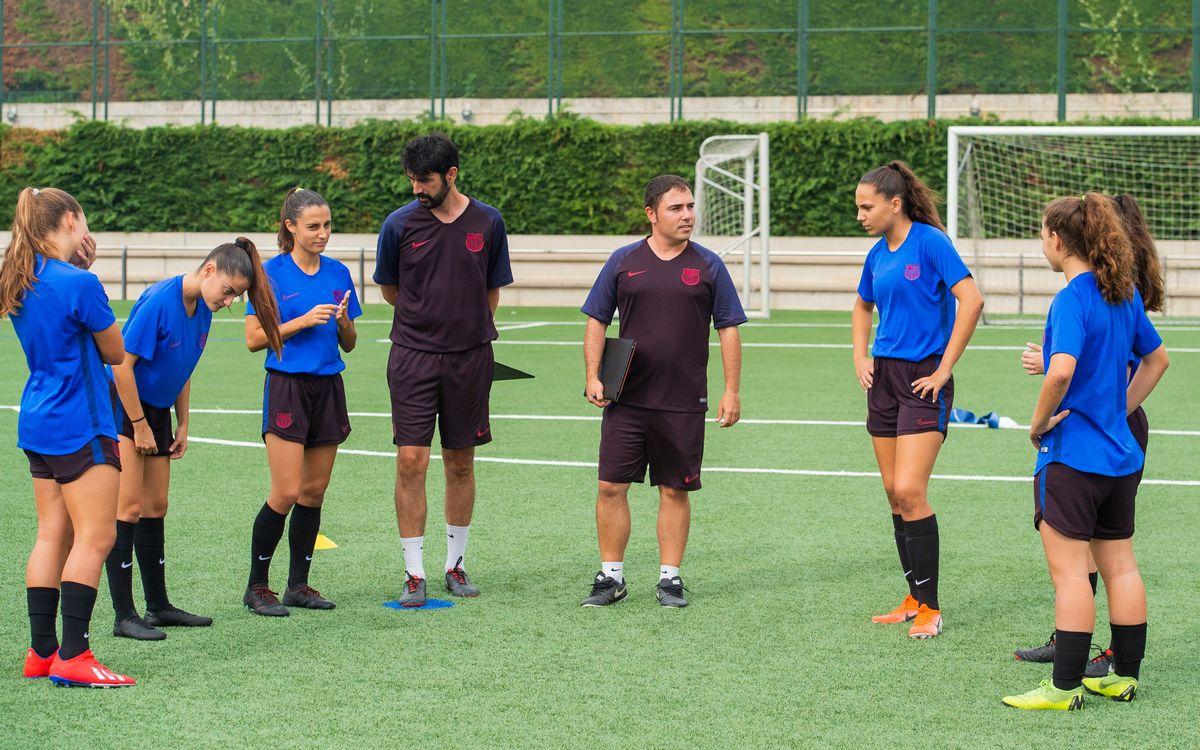 Definits els entrenadors del futbol formatiu femení per a la temporada 2020/21