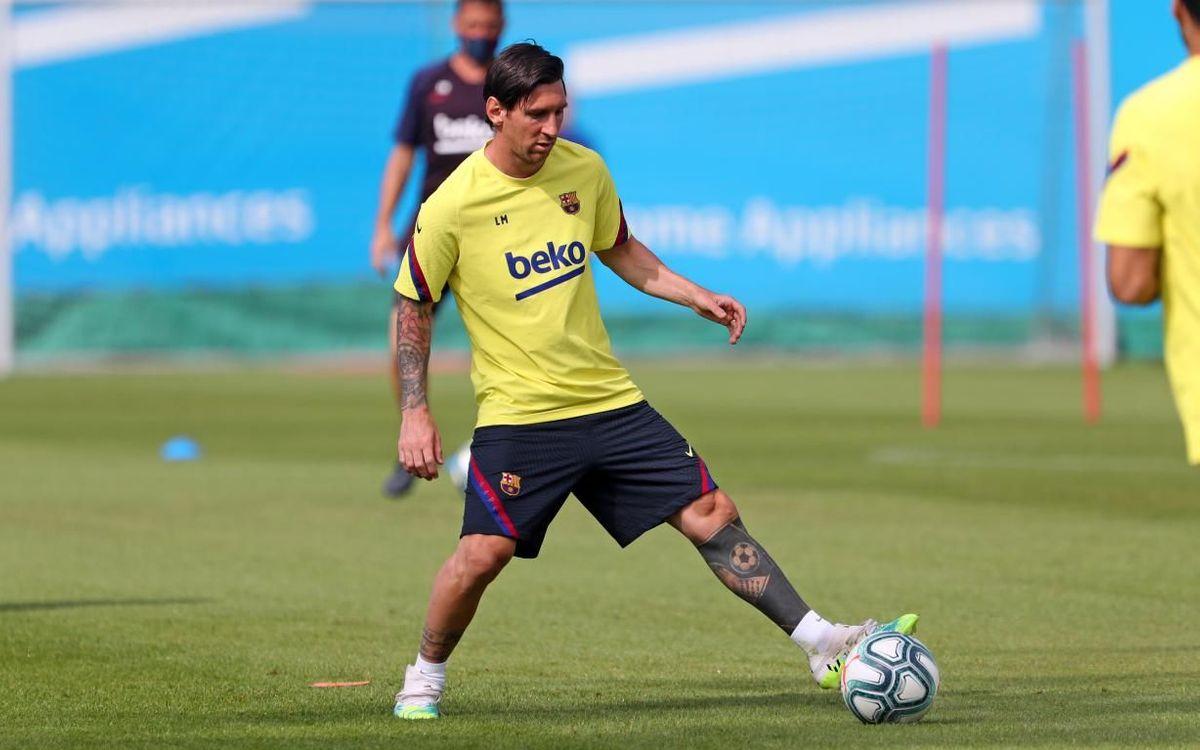 """Messi : """"Le football, comme la vie, ne seront plus comme avant"""""""