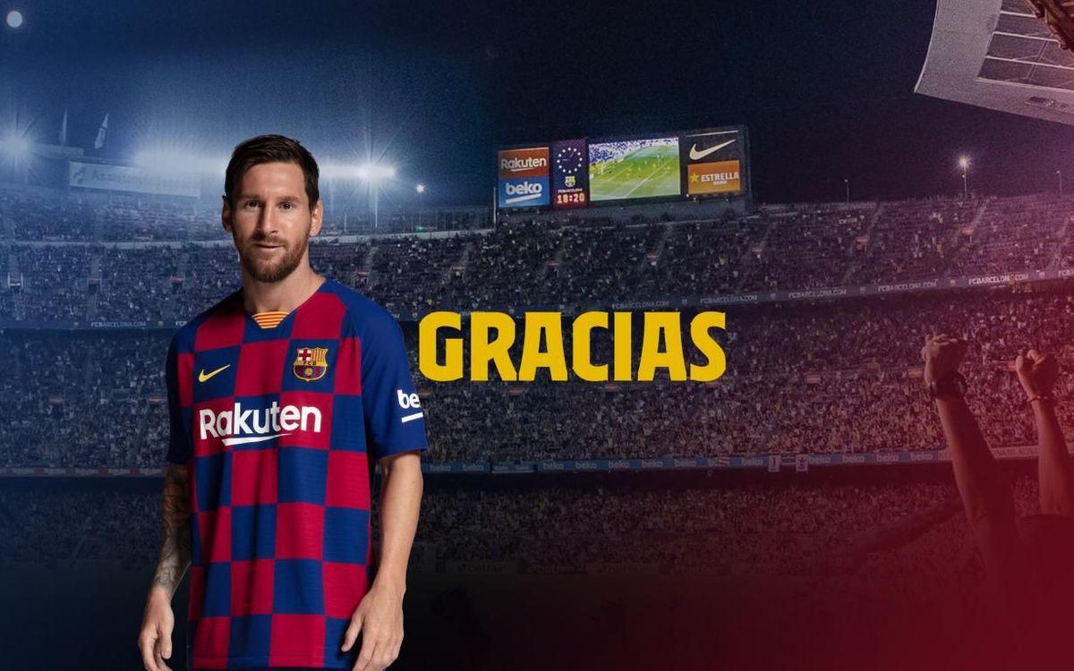 El Barça agradece el apoyo de sus socios como miembros de la extraordinaria familia azulgrana